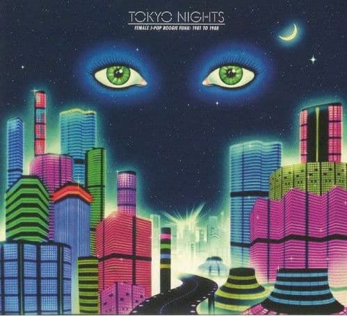 Various<br>Tokyo Nights (Female J-Pop Boogie Funk: 1981 To 1988)<br>CD, Comp